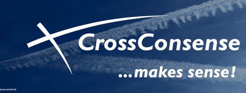 CrossConsense ... makes sense! Logo