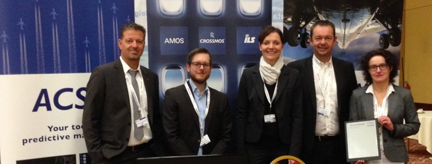4 members of the team of CrossConsense and Marcus di Laurenzio from SWISS on the Flight Operations Conference 2015