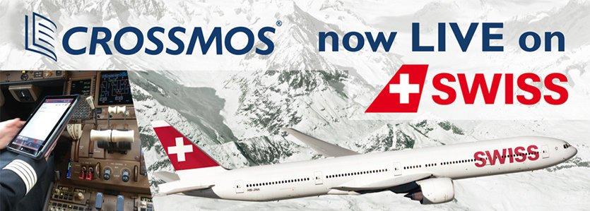 CROSSMOS now LIVE on SWISS