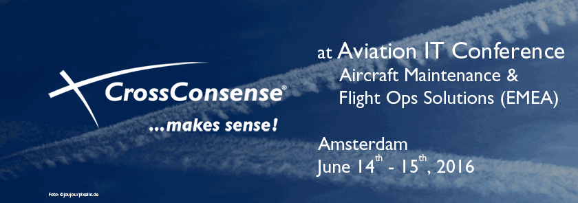 CrossConsense at Aviation Conference in Amsterdam