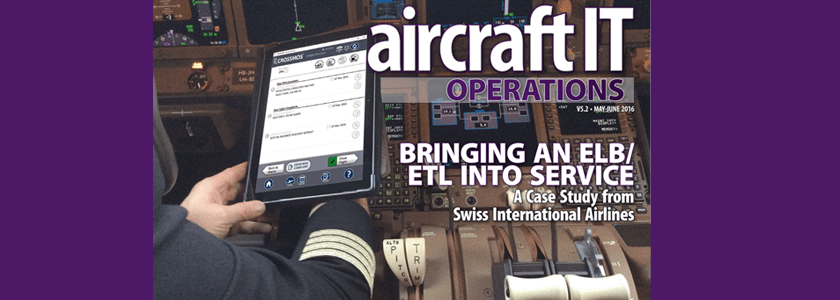 Aircraft IT Operations Case Study: CROSSMOS at SWISS