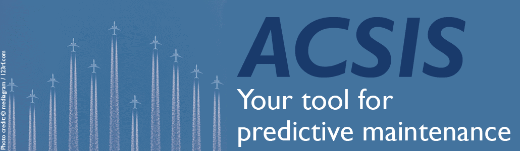 ACSIS Software for predictive and preventive maintenance