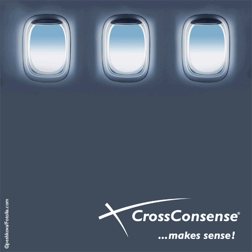 Title page of CrossConsense brochure