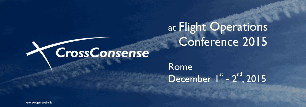 CrossConsense at Flight Ops Conference 2015