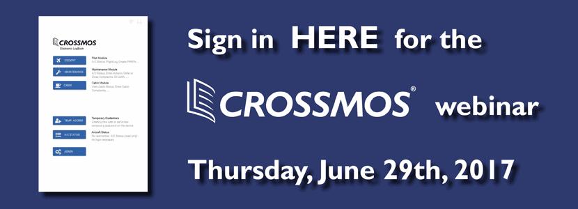 CROSSMOS Webinar 2017