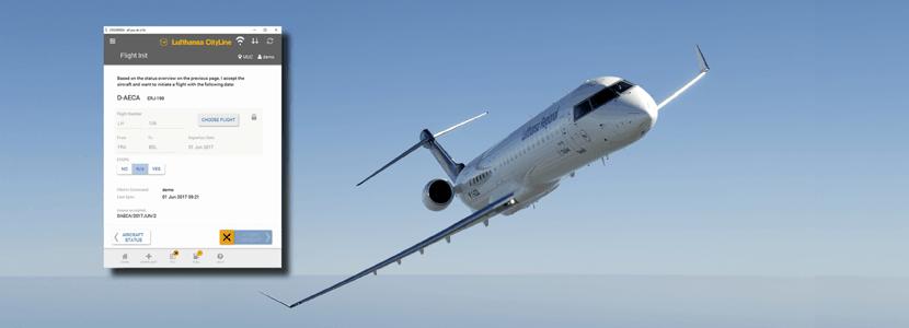 Lufthansa CityLine goes CROSSMOS