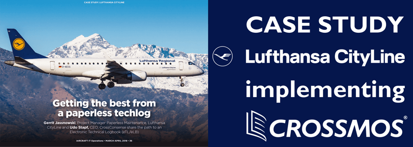 Case Study Lufthansa CityLine implements CROSSMOS