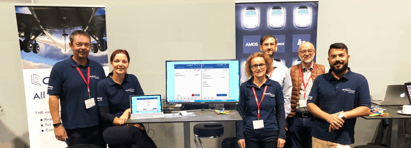 CrossConsense team at AMOS Customer Conference in Lucerne