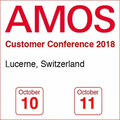 AMOS Cusomter Conference 2018