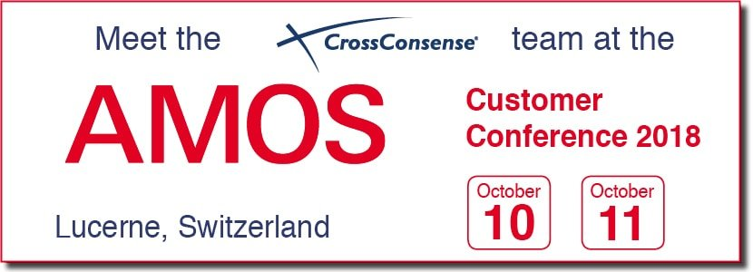 CrossConsense at AMOS Customer Conference 2018