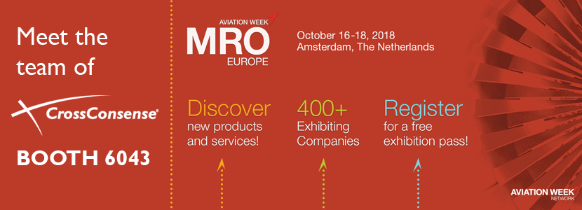 CrossConsense at MRO Europe