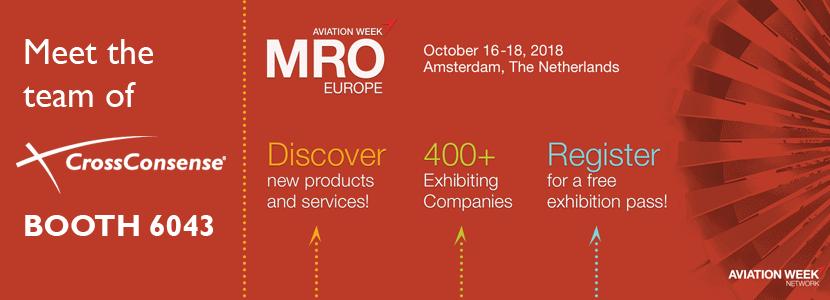 CrossConsense at MRO Europe
