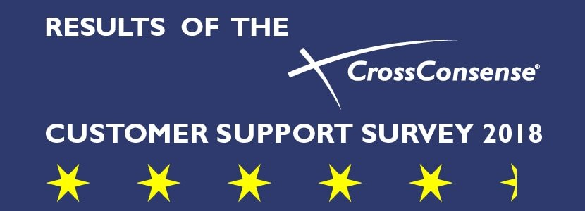 CrossConsense Customer Support Survey 2018